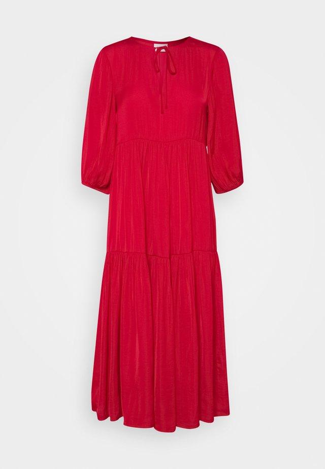 VIDREAMY  - Day dress - mars red