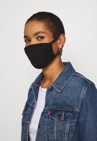 Urban Classics - 2 PACK - Maska z tkaniny - black - 1