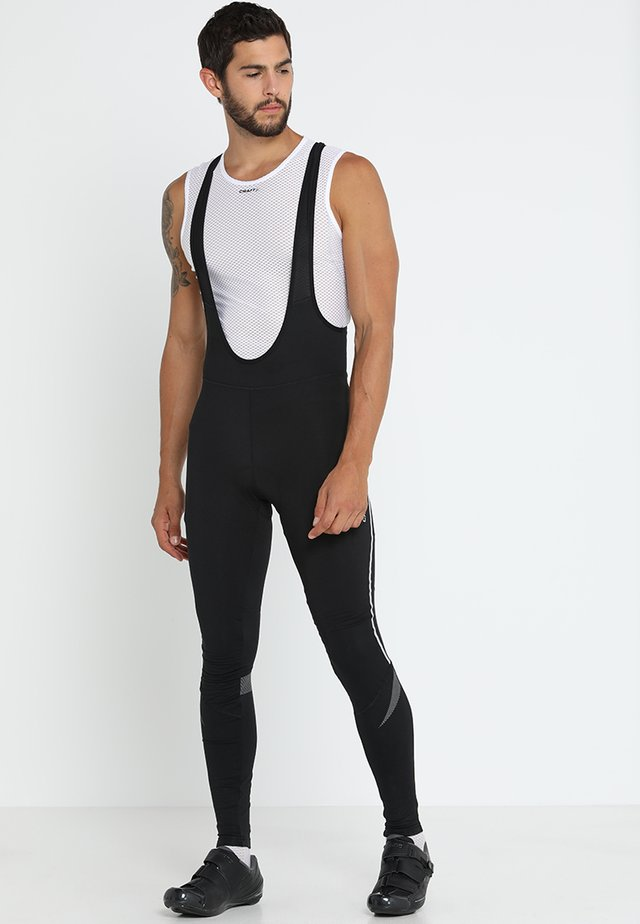 IDEAL THERMAL BIB  - Tights - black