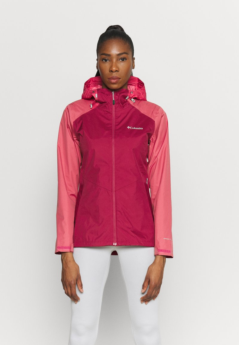 Columbia - INNER LIMITS II JACKET - Outdoor jacket - red orchid/rouge pink