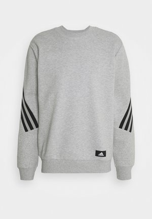 CREW - Sweatshirt - medium grey heather