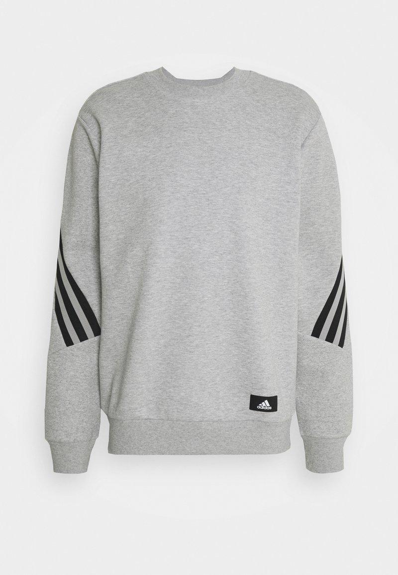 adidas Performance - CREW - Sweatshirt - medium grey heather