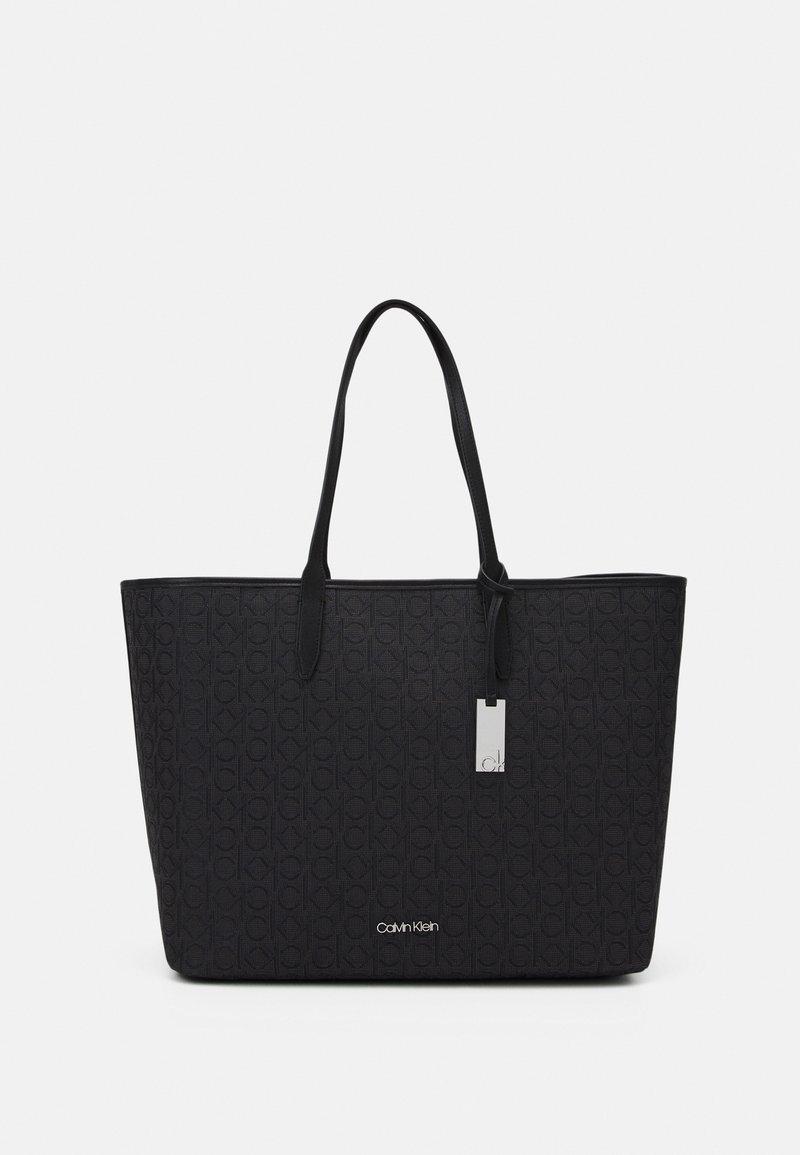 Calvin Klein - SHOPPER LAPTOP POUCH - Tote bag - black