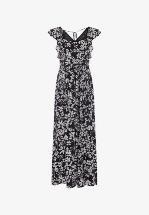 Maxi dress - black/summer white