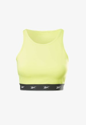 BEYOND THE SWEAT CROP TOP - Top - yellow