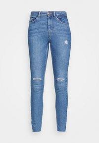 Pieces - PCMIDFIVE - Jeans Skinny Fit - light blue denim - 3