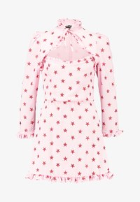 NEW girl ORDER - STAR DRESS - Robe fourreau - pink - 4