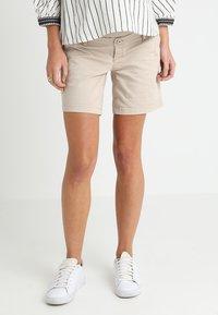 Noppies - SHORTS ORIT - Shorts - plaza taupe - 0