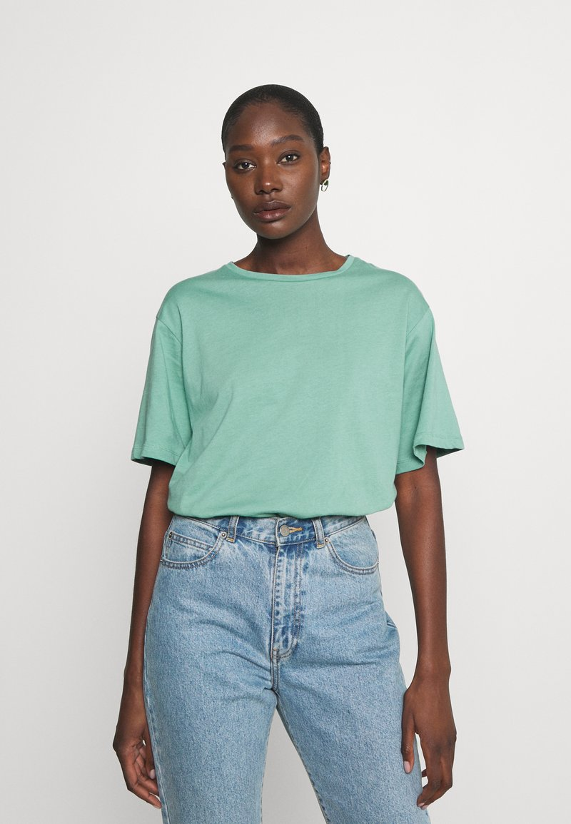 Trendyol - Jednoduché triko - mint