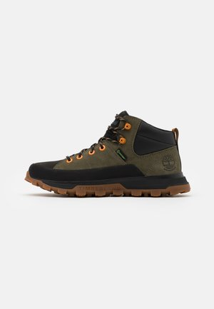 TREELINE MID WP - High-top trainers - dark green