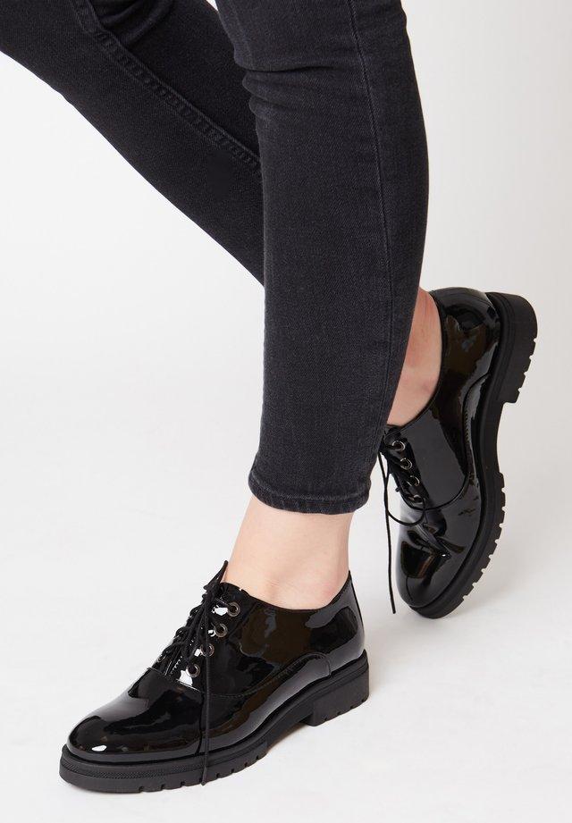Zapatos de vestir - schwarz