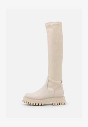 GROOVY - Høye støvler - winter white