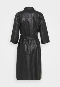 Selected Femme - SLFSOLA DRESS - Shirt dress - black - 1