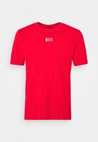 HUGO - DURNED - Print T-shirt - open pink - 4