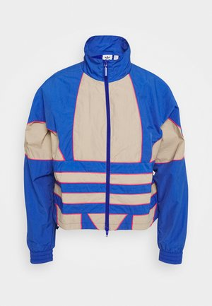 ADICOLOR SPORTS INSPIRED LOOSE TRACK - Trainingsjacke - team royal blue/trace khaki/power pink