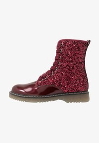 Friboo - Lace-up ankle boots - bordeaux - 1