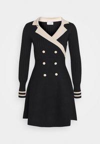 Molly Bracken - YOUNG LADIES DRESS - Pletené šaty - black - 0