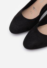Tamaris - COURT SHOE - Classic heels - black - 5