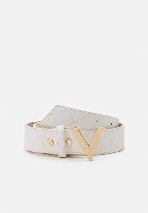 PALMA - Belt - bianco