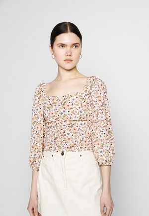 UMA BLOUSE - Blouse - mole dusty light