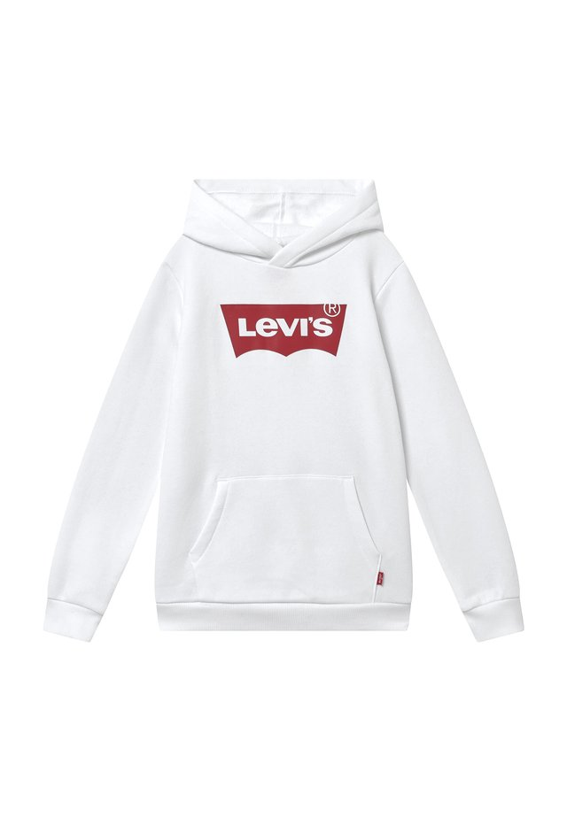 BATWING SCREENPRINT HOODIE - Hoodie - white