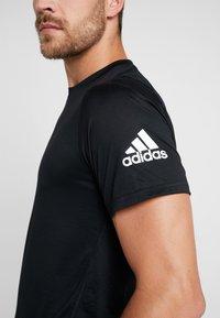 adidas Performance - FREELIFT SPORT ULTIMATE SPORT T-SHIRT - Camiseta de deporte - black - 5