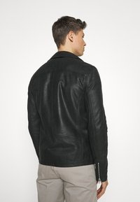 Lindbergh - BIKER JACKET - Leather jacket - black - 2
