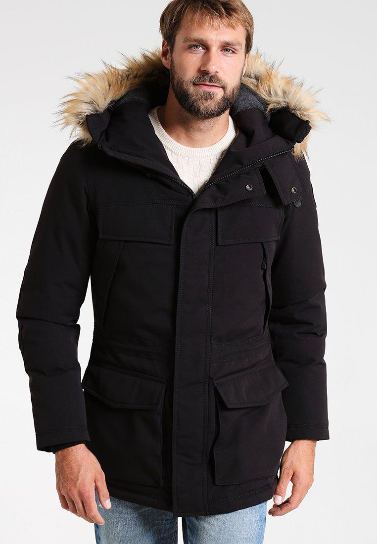 Napapijri - SKIDOO OPEN LONG - Zimní kabát - black