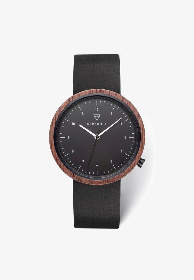 HEINRICH - Uhr - black