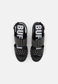 Buffalo - VEGAN RAIN - Platform sandals - black - 5