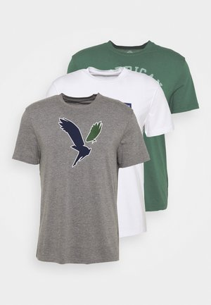 MODERN 3 PACK - T-shirt con stampa - grey