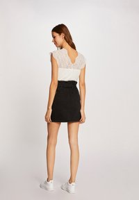 Morgan - Denim skirt - black - 2