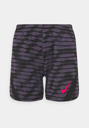 SHORT - Pantalón corto de deporte - dark raisin/black/siren red