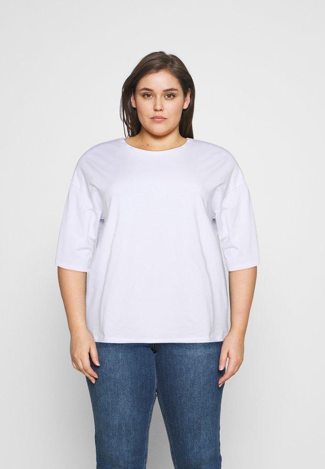 NMHAILEY - T-shirt basic - bright white
