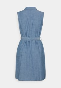 Vero Moda - VMAKELASANDY  SHORT DRESS - Denim dress - medium blue denim - 1