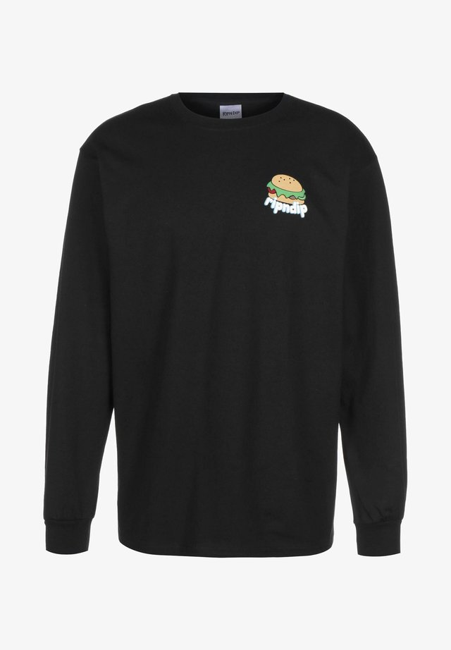 FAT HUNGRY  - Longsleeve - black