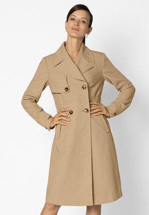 Classic coat - camel/melange