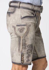 Stockerpoint - Leather trousers - rauch geäscht - 5