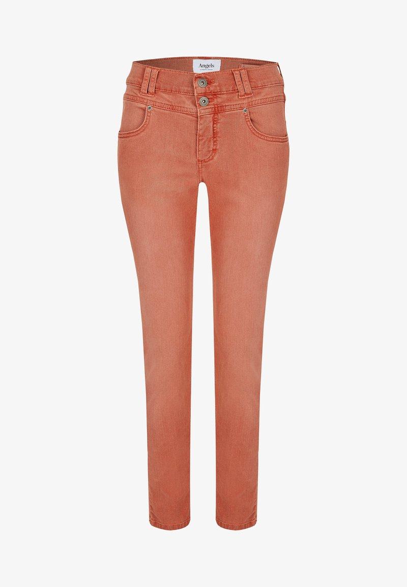 Angels - Jeans Skinny Fit - burned-orange denim