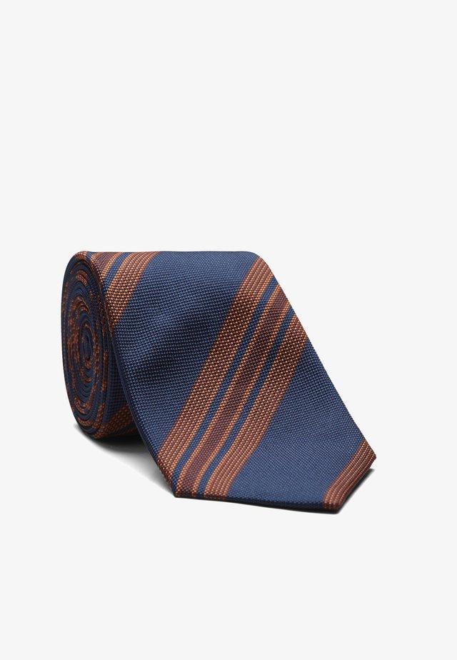 LEROY - Krawatte - grau