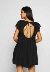 Free People - HAILEY MINI DRESS - Day dress - black - 2