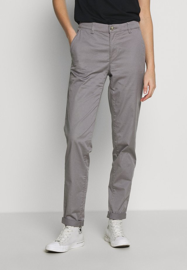 Pantalones chinos - light grey