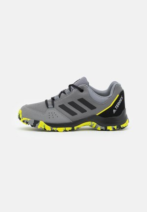 TERREX HYPERHIKER LOW UNISEX - Hiking shoes - grey four/core black/grey three