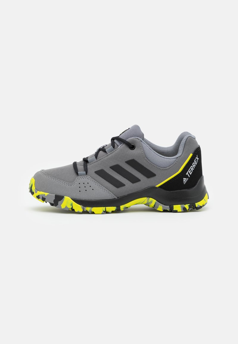 adidas Performance - TERREX HYPERHIKER LOW UNISEX - Vaelluskengät - grey four/core black/grey three