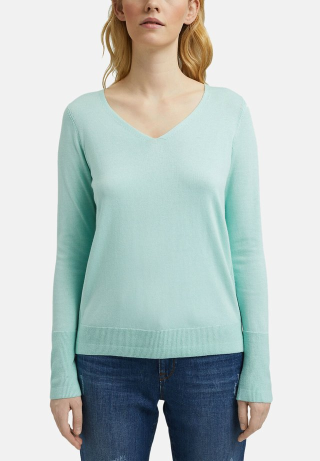 Pullover - light turquoise