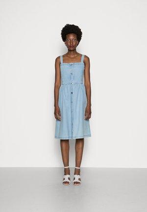 DENITSA - Denim dress - bleach