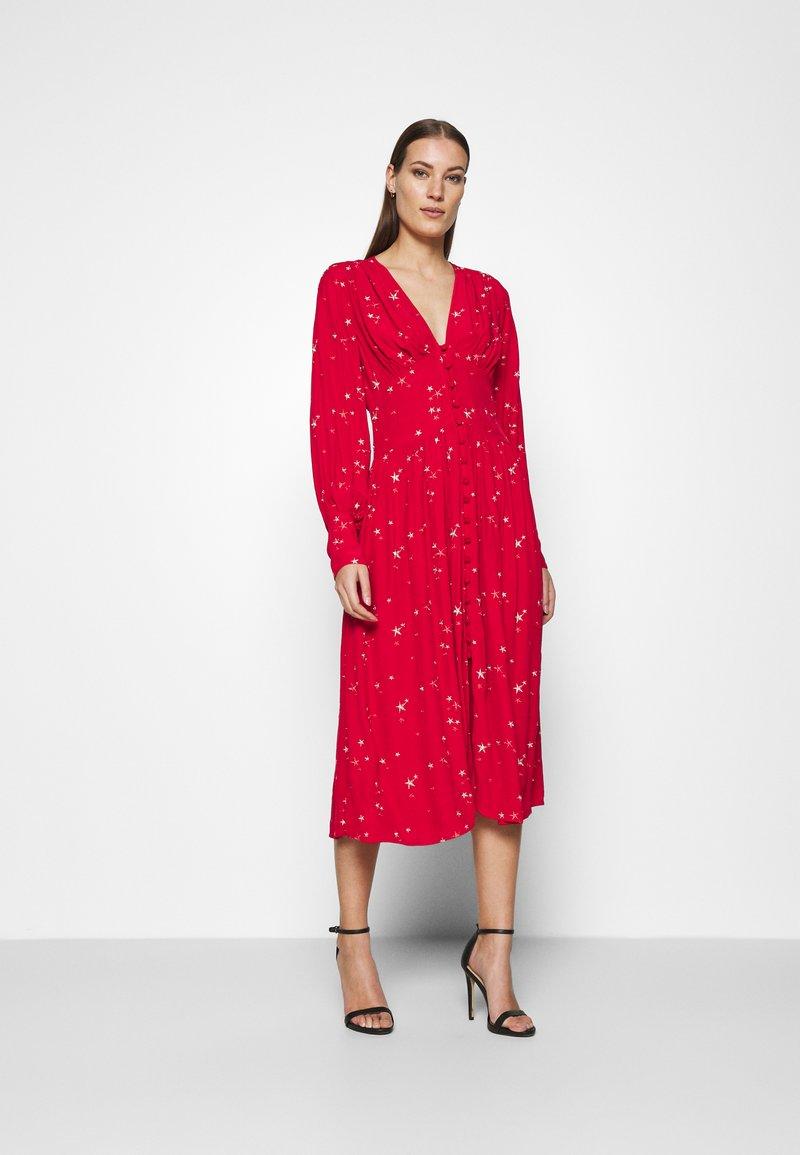 Ghost - CORA DRESS - Vestito estivo - red