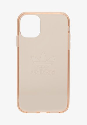 ADIDAS OR PROTECTIVE CLEAR CASE BIG LOGO - Telefoonhoesje - rose gold