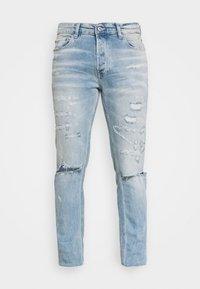 Topman - BLEACH - Slim fit jeans - light wash - 3