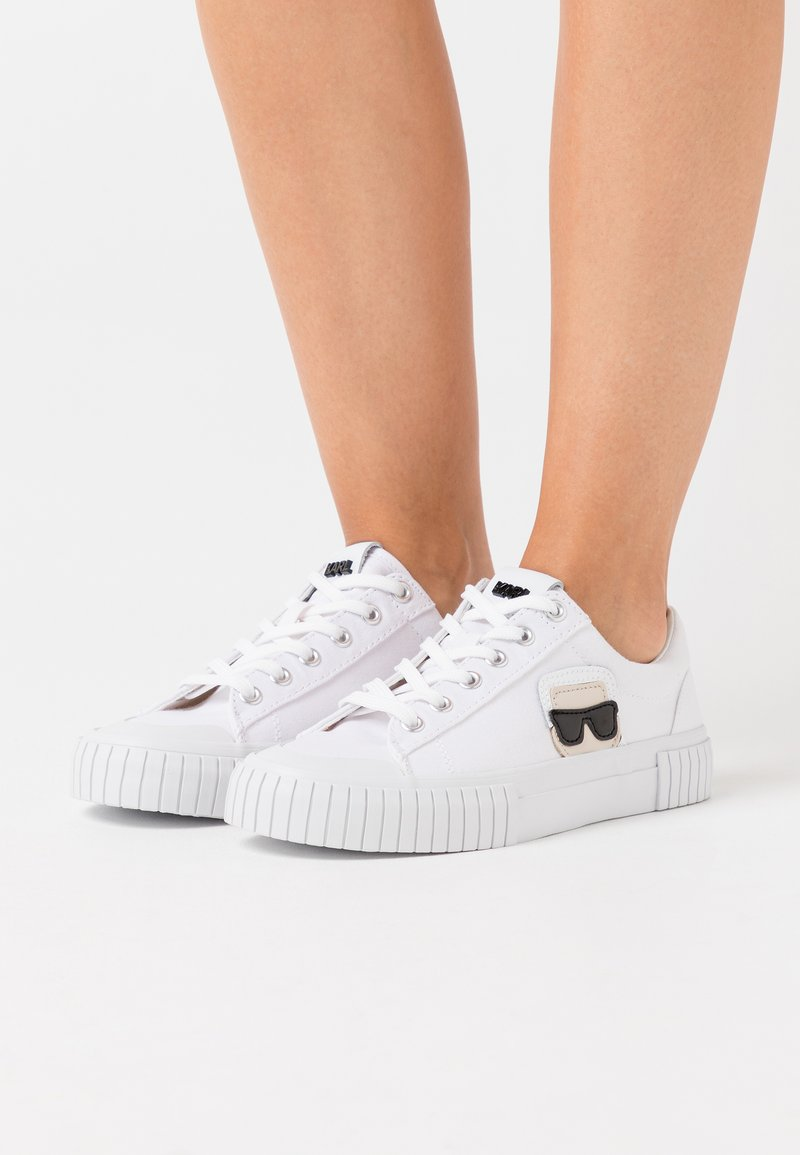 KARL LAGERFELD - KAMPUS IKONIC LACE - Sneakers - white